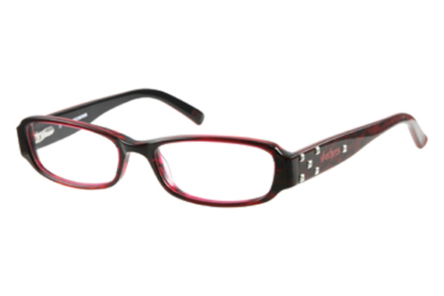 Skechers SK 2011 Eyeglasses in BU: BURGUNDY CRYSTAL