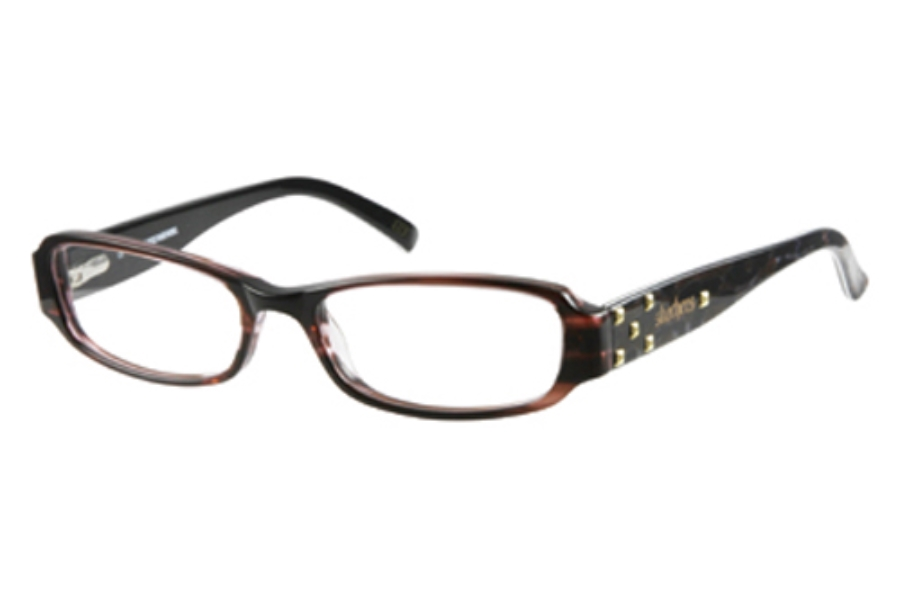Skechers SK 2011 Eyeglasses in ROBRN: ROSE/BRN CRYST