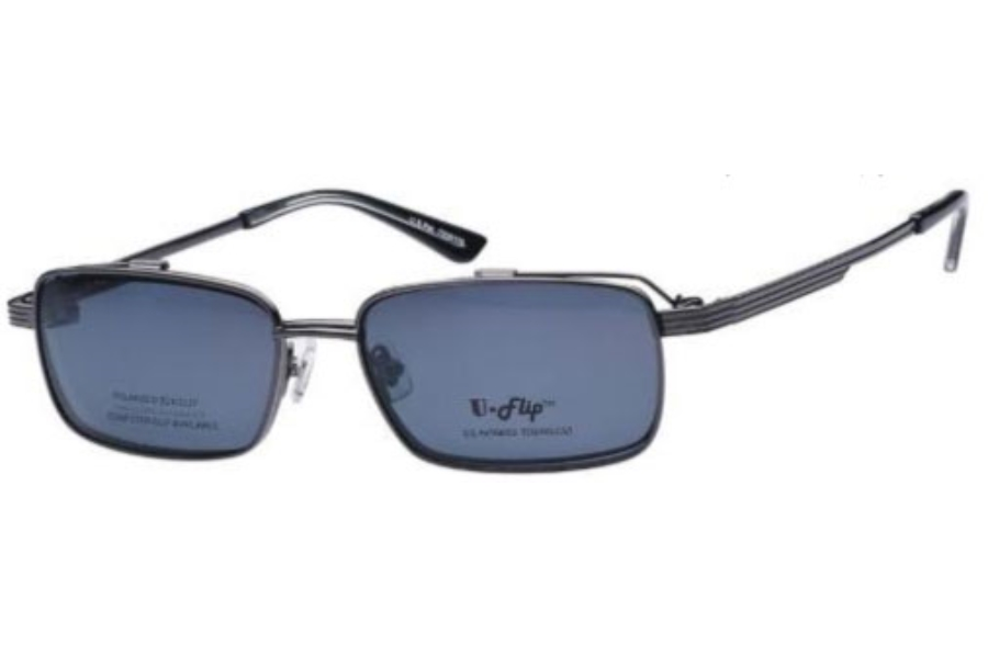 uflip uf201 w flip clip eyeglasses free shipping