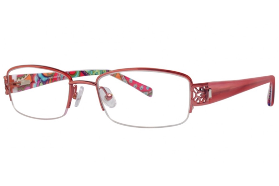 Vera Bradley VB 3030 Eyeglasses in Pink Swirls