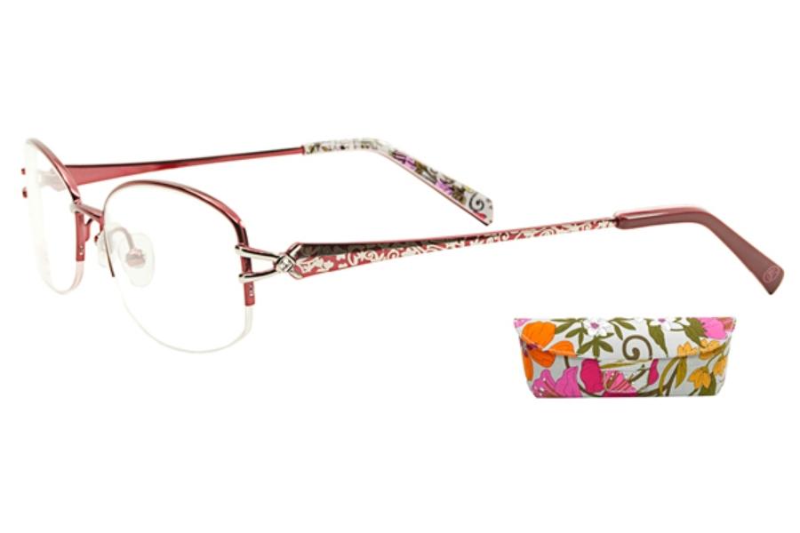 1d06789436 Vera Bradley VB Alexa Eyeglasses in Tea Garden ...
