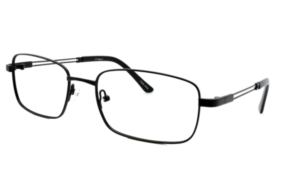 ZTwist ZT824 Eyeglasses in MATTE BLACK